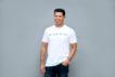 Dog People Are Cool Men's Typewriter T-shirt, White