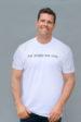 Dog People Are Cool Men's Typewriter T-shirt, Vintage White