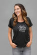 Dog People Are Cool Women's Calligraphy Tee